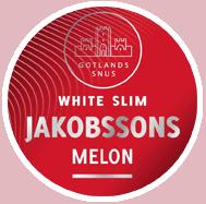 Jakobssons Slim White Melon Strong Portion Snus