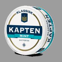 Kapten White Mint Portion Snus