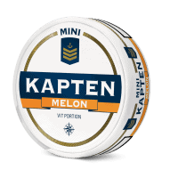 Kapten White Melon Mini Portion Snus
