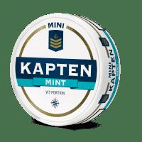 Kapten White Mint Mini Portion Snus