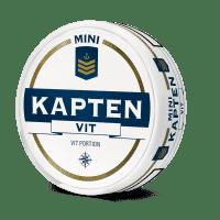 Kapten White Original Mini Portion Snus