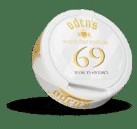 Odens 69 White Dry Portion of Snus