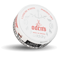 Odens Cold Extreme White Dry Portion Snus