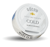 Odens Cold White Dry Portion Snus