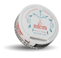 Odens Double Mint Extreme White Dry Snus Portion