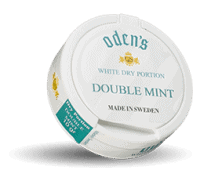 Odens Double Mint White Dry Portion