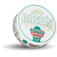 Odens Slim Double Mint Extreme White Dry Portion Snus