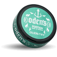 Odens Double Mint Portion Snus