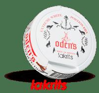 Odens Licorice Extreme White Dry Portion Snus