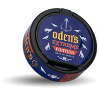 Odens Licorice Extreme Portion Snus