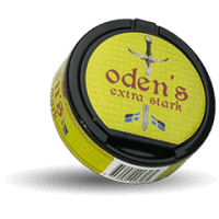 Odens Lime Extra Strong Portion Snus