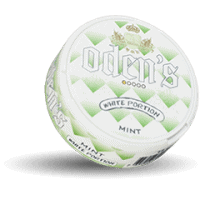 Odens Mint White Portion Snus