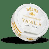 Odens Vanilla White Dry Portion Snus