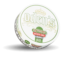 Odens Slim Wintergreen Extreme White Dry Snus Portion