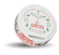 Odens Wintergreen Extreme White Dry Portion Snus