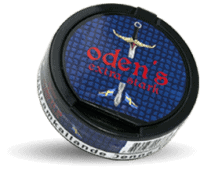 Odens Licorice Extra Strong Portion Snus