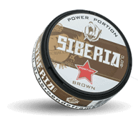 Siberia Brown Extremely Strong Snus Portion