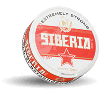 Siberia White Dry Extremely Strong Portion Snus