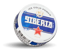 Siberia Ice Cold White Strong Snus Portion