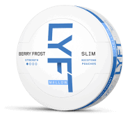 Lyft Slim Berry Frost Mellow White Portion