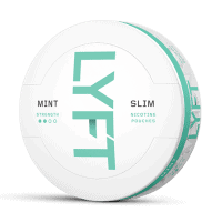 Lyft Slim Mint White Portion