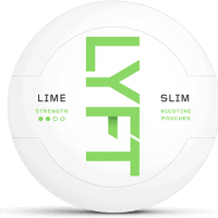 Lyft Slim Lime White Portion