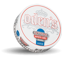 Odens Slim Cold Extreme White Dry Portion Snus