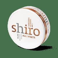 Shiro Virginia Classic Slim Snus All White