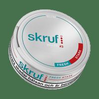 Skruf Slim Fresh Strong White Portion Snus