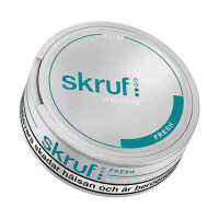 Skruf Slim Fresh White Snus Portion