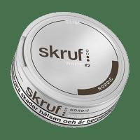 Skruf Slim Nordic White Portion Snus