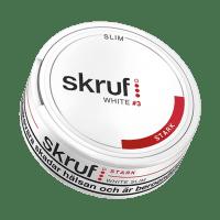 Skruf Slim Strong White Portion Snus