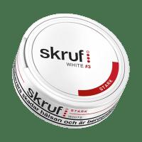 Skruf Strong White Portion Snus
