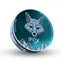 White Fox Slim Double Mint All White Portion