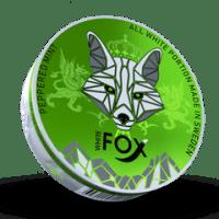 White Fox Slim Peppered Mint All White Portion