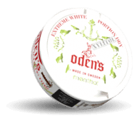 Odens Menthol Xylitol Extreme White Dry Portion
