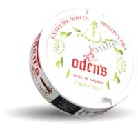 Odens Menthol Xylitol Extremely White Dry Portion Snus