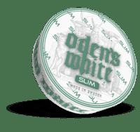 Odens Double mint slim white portion swedish snus online shop