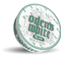 Odens Double Mint Slim Extreme White Portion Snus