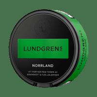 1401L - Lundgrens Norrland White Portion Snus, floral taste