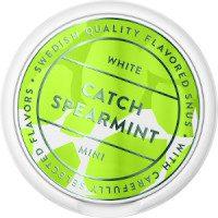 Catch Spearmint Mini White Portion Snus