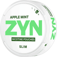 ZYN Slim Apple Mint Strong Nicotine Pouches