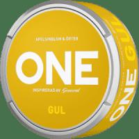 ONE Gul (Yellow) White Portion Snus