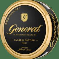 General Classic Mini Portion Snus