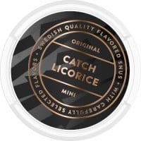 Catch Licorice Mini Portion Snus