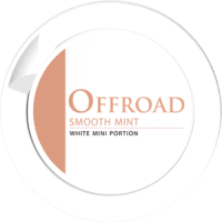 Offroad Smooth Mint White Mini Portion
