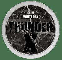 7887 Thunder X Slim White Dry