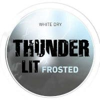 Thunder Lit Frosted White Dry Portion