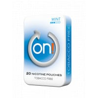 On! Mint 3Mg All White Nicotine Pouches