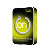 On! Citrus 6Mg All White Nicotine Pouches